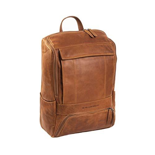 The Chesterfield Brand Wax Pull Up Rich Rucksack Leder 32 cm Laptopfach