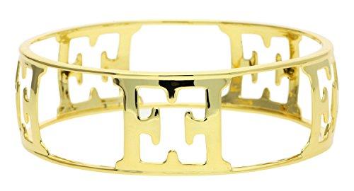 Escada Damen Armreif 925 Silber Gold E73011
