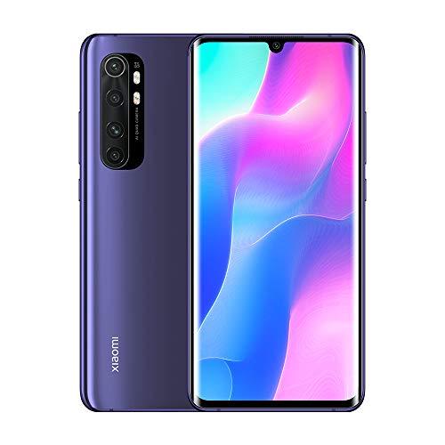 "Xiaomi Mi Note 10 Lite Smartphone, 6GB RAM 128GB ROM, 6.47"" FHD 3D AMOLED Display, Quad Caméra (64MP+8MP+5MP+2MP) Version Globale Violet (Nebula Purple)"