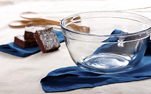 Anchor Hocking 4-Quart Glass Mixing Bowl, Set of 2