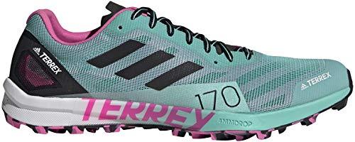 adidas Terrex Speed Pro W, Zapatillas de Trail Running Mujer, MENACI/NEGBÁS/ROSCHI, 38 EU