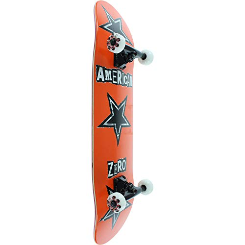 Zero Skateboards American Ranson orange Complete Skateboard–20,3x 81,3cm