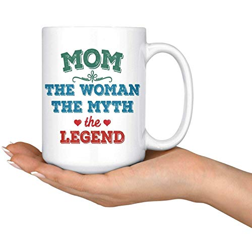 N\A Mamá Mujer Mito Leyenda Taza de café Tazas del día de la Madre Mejor mamá Taza de café-Taza de té de café