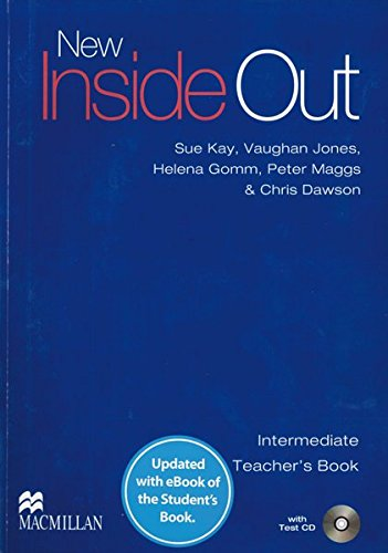 New Inside Out: Intermediate / Teacher's Book with ebook and Test Audio-CD