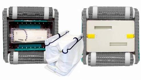 Maytronics Dolphin X Force 10 Digital - Robot Elettrico Pulitore per Piscina Interrata & Fuoriterra Fino a 12 Mt - Pulizia Fondo + 40 CM PARETI - New