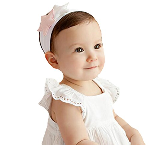 Youkara Cien Días Accesorios de Artefacto Fotografía Niñas Venda de Pelo Banda Accesorios de Cabello Niña Princesa Tocado Bebé Niña Cabeza Flor Bebé Pelo Aro