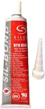 Sil-Bond RTV 4500 High Temperature Industrial Construction Grade Silicone - Red (2.8oz)