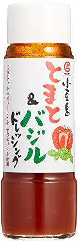 [タケサン] とまと&バジル ドレッシング 200ml×2本 野菜サラダ/生ハム/パスタサラダ などに ×2本