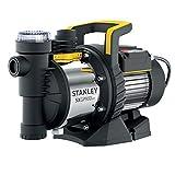 Stanley SXGP900XFE Selbstansaugende Pumpe (900 W, Förderleistung max. 3.600 l/h, Förderhöhe max. 42 m)