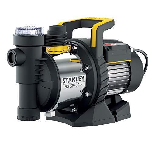 Stanely SXGP900XFE Pompa Autoadescante per Acque Chiare (900 W, Portata max. 3.600 l/h, Prevalenza max. 42 m)