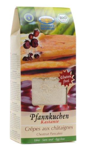 Govinda Bio Pfannkuchen-Backmischung Kastanie, natursüß, 350 g