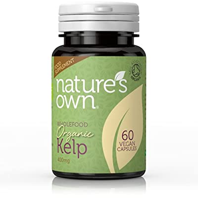 Nature's Own Organic Kelp 400mg (60 Capsules) by Natures Own