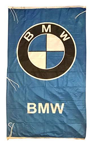 Cyn Flags B-M-W Fahne Flagge VERTIKAL BLAU 5 X 3 ft