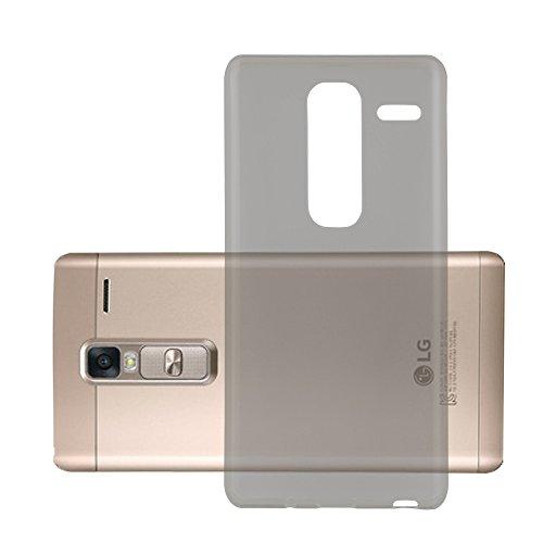 Cadorabo Hülle für LG Class - Hülle in TRANSPARENT SCHWARZ – Handyhülle aus TPU Silikon im Ultra Slim 'AIR' Design - Silikonhülle Schutzhülle Soft Back Cover Case Bumper