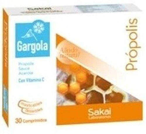 Gargola Propolis Masticables 30 comprimidos de Sakai