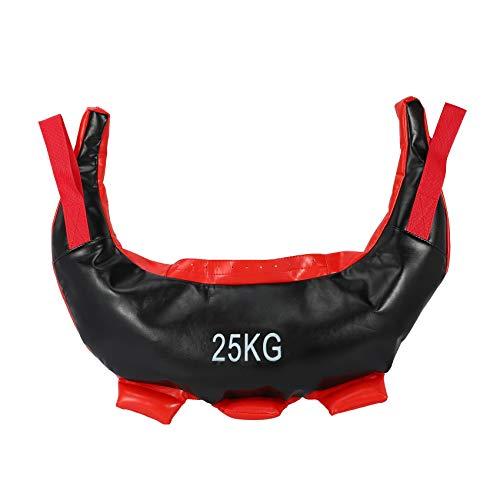Rekuopl Bulgarian, borsa per sollevamento pesi, borsa per allenamento con sabbia, colore nero