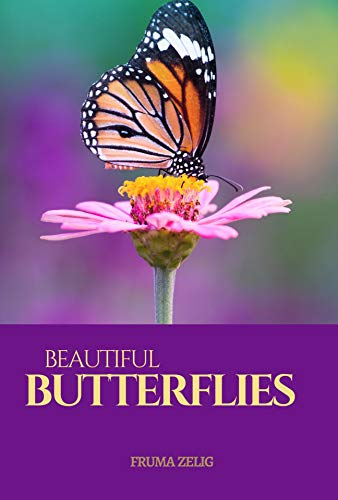 Beautiful Butterflies: An Adult Picture Book and Nature Photography with Images with NO Text or Words for Seniors, The Elderly, Dementia And Alzheimer's Patients For Easy Relaxation, (English Edition)