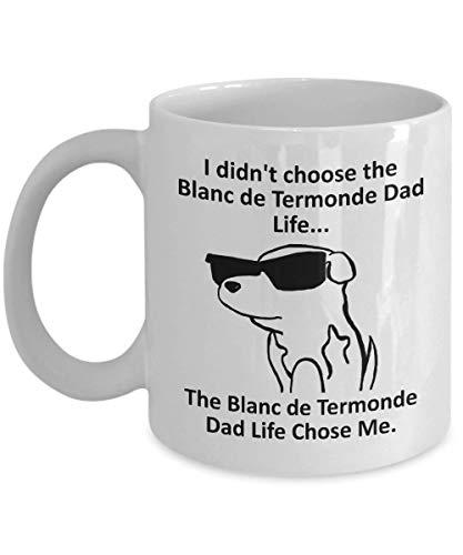 Tazza Magica Tazza da caffè Blanc de Termonde Dad Tazza con Frase e Disegno Divertente Migliore Tazza In Ceramica Idee Regali Originali