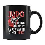 N\A Taza de Judo Judo Taza de café de Judo Judo Lover Judo Trainer Mug Judo Trainer Judo Fan Mug Judo Practice Mug CXW0YE