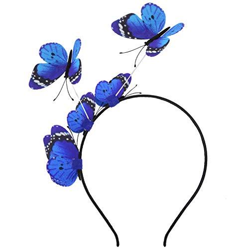 Women Butterfly Headband,Aniwon Elegant Party Headband Hair Band Fashion Headbands for Girls Hair Accessories Party Supplies