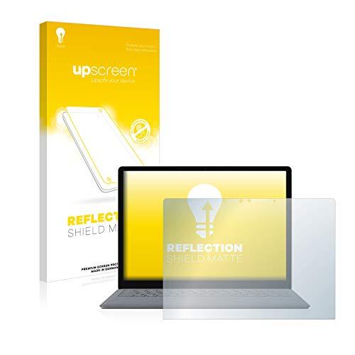 upscreen Entspiegelungs-Schutzfolie kompatibel mit Microsoft Surface Laptop 2 – Anti-Reflex Displayschutz-Folie Matt