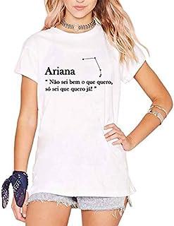 Camiseta Ariana Signo