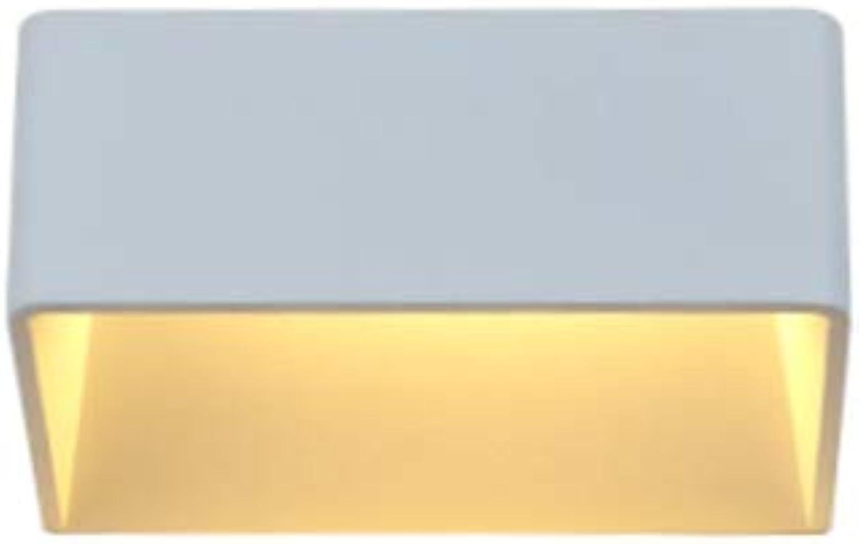 GaoHX Wandlampe Wandleuchte, Einfache moderne Hotel-Hotelwandlampe Wohnzimmer Schlafzimmer Studie Balkon Gang Nachttischlampe Nordische Spiegelscheinwerfer (Gre   S-15cm-5W)