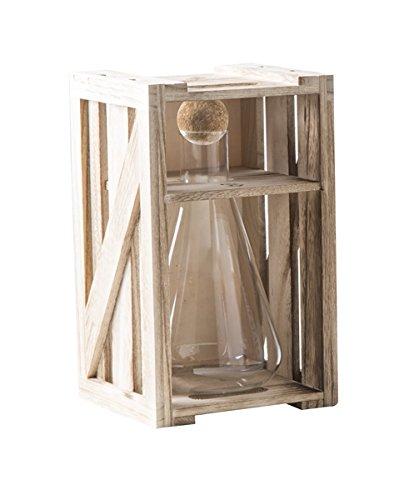 Brandani 54386 decanter alchimia in vetro borosilicato con tappo in sughero 750ml