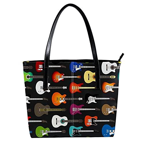 LORVIES - Fondo de guitarras acústicas y eléctricas de color, bandolera de...