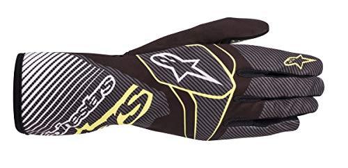 Alpinestars Karthandschuhe Tech 1-K Race V2 Carbon Black/grün S