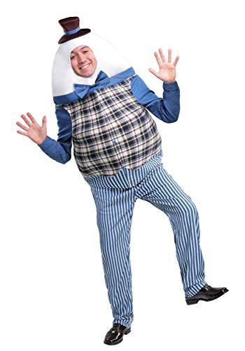 Classic Humpty Dumpty Adult Fancy Dress Costume Standard