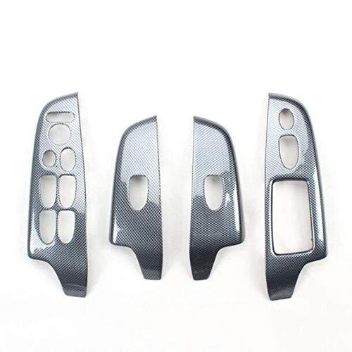 NUIOsdz ABS Auto Armlehne Fensterheber Schalter Schalttafelabdeckung rechts, für Honda Civic 8. Generation 2006-2011