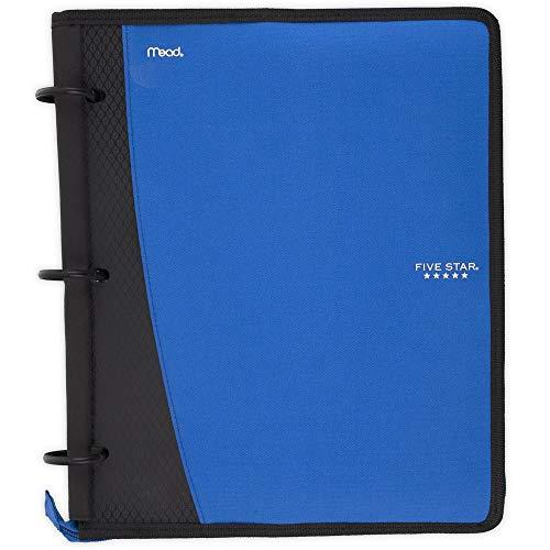 Five Star Flex Hybrid NoteBinder, 1 Inch Ring Binder, Notebook and Binder All-in-One, Cobalt (73418)