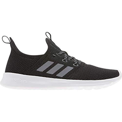 adidas Women's Cloudfoam Pure Running Shoe, Black/Grey/Grey, 9.5 Medium US