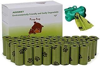 comprar comparacion AIXMEET Bolsas Caca Perro, 600 Bolsas de Compost para Perros con 1dispensador(32X22cm)