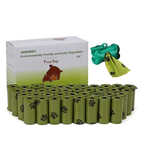 AIXMEET Bolsas Caca Perro, 600 Bolsas para Caca de Perro Per