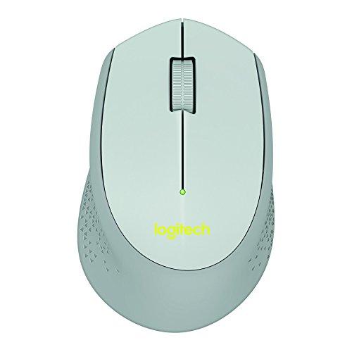 Mouse sem fio Logitech M280 com Conexão USB e Pilha Inclusa - Cinza
