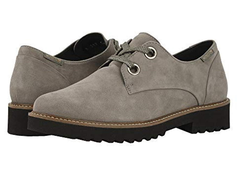 永遠の作り失効レディースレースアップ?オックスフォード?靴 Sancha Dark Grey Velcalf Premium (21.5cm) B - Medium [並行輸入品]