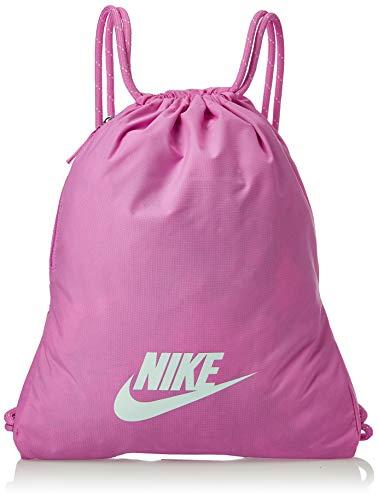 NIKE NK Heritage Gmsk - 2.0 Sports bag, Unisex adulto, China Rose/ China Rose/ Glossy Sp, MISC