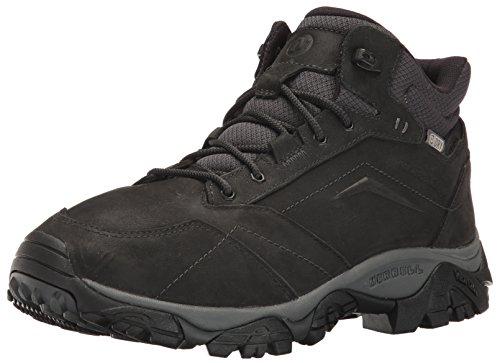 Merrell Men's Moab Adventure Mid Waterproof Hiking Boot, Black, 9 M US