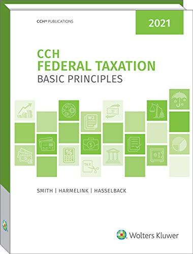 Compare Textbook Prices for Federal Taxation: Basic Principles 2021 2021 ed. Edition ISBN 9780808054078 by Ephraim P. Smith,Philip J. Harmelink,James R. Hasselback