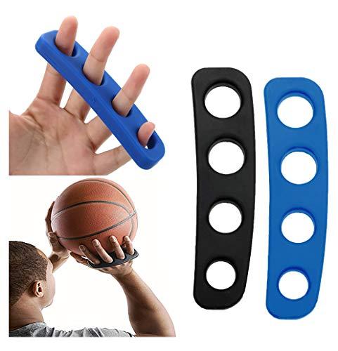 Wrzbest - Equipo de entrenamiento de baloncesto para entrenamiento de tiro para baloncesto (4 unidades), color azul y negro