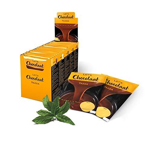 Lets Chocolaat Chocolate a la Taza,estuche 25 sobres, sabor Menta
