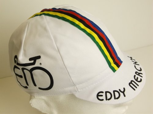 Eddy Merckx Retro Cotton Cycling Cap by APIS