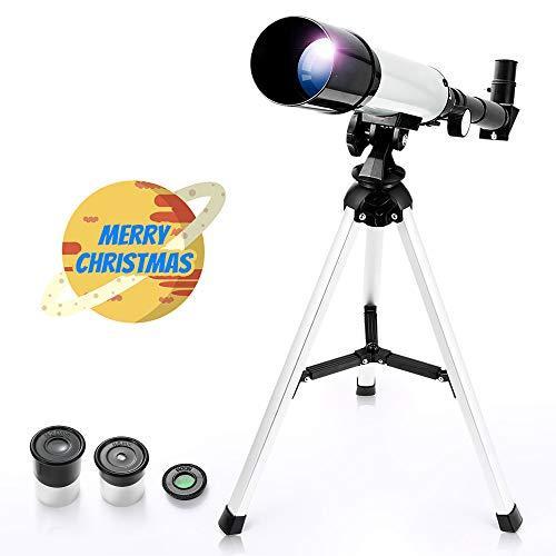 Telescopio Rifrattore Astronomico Zoom HD Monoculare Spazio...