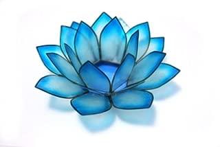 Lotus Tea Light- Cool Water