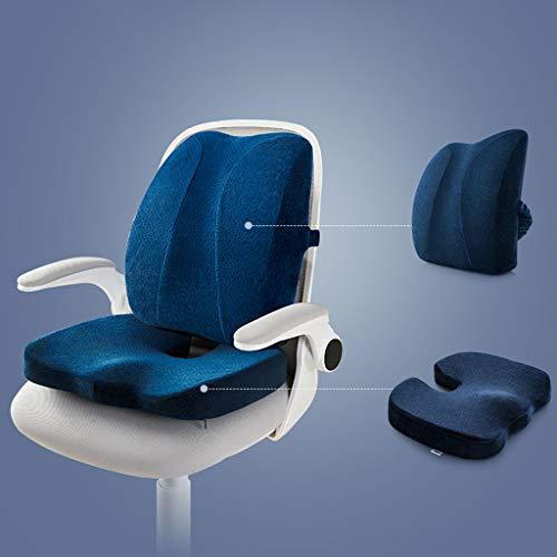 zyl zitkussen voor zitkussens, bureaustoel, ergonomisch zitkussen voor zitkussen, zitkussen voor rolstoel, kantoor, zitvlak voor binnen en buiten