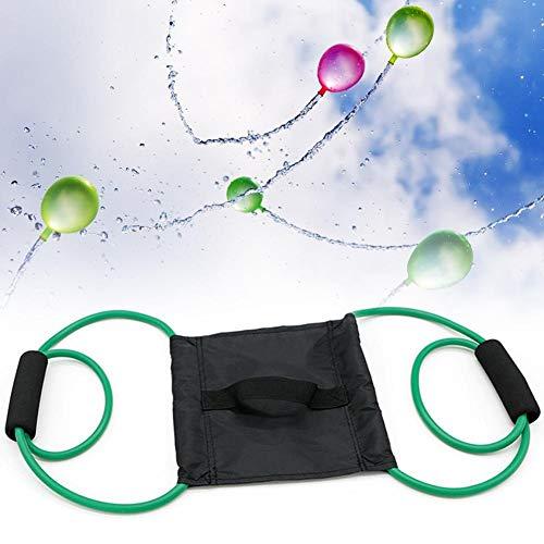 Wasserbomben Luftballons Wasserbombenschleuder für 3 Personen Wasserballon Werfer Schleuder Schleuderspielzeug Outdoor Party Wasserspiel für Kinder & Erwachsene