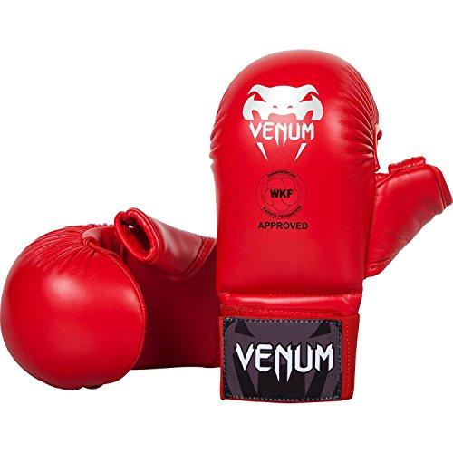 Venum Fäustlinge mit Daumen Schutz Karate, Rot, XL, EU-VENUM-1366