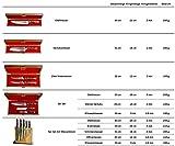 Stallion Damastmesser Ironwood Messerset - Messer aus Damaststahl und mit Griff aus Eisenholz inklusive Messerblock - 3